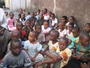 THE CHILDRED AT KEKO PARISH