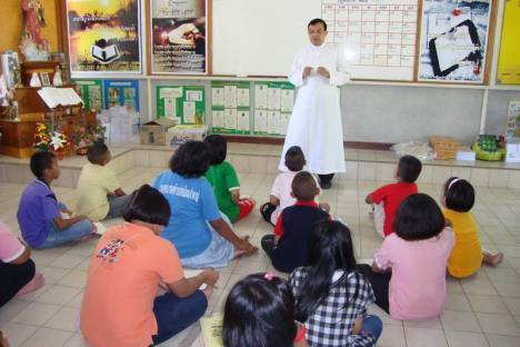Sunday schools in 3 Parishes 80 children