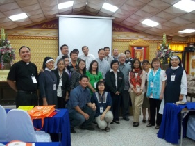 Bishops David and Tirona with Philippine Delegation