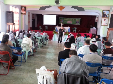 The Participants at the Session Hall during the Seminar
