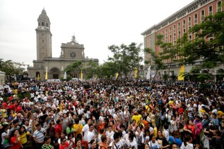 Pope's Mass With the Religious and Clergy at the Manila Cathedral